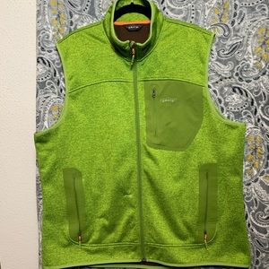 ORVIS Men's XL Green Zip Up Vest